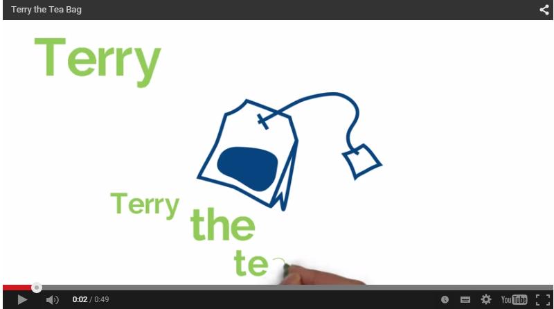 Terry the Tea Bag